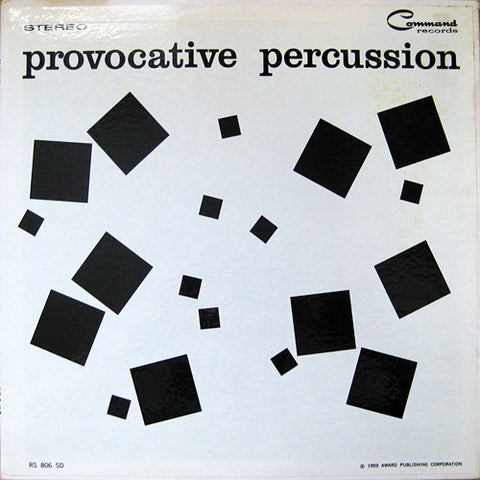 The Command All-Stars ‎– Provocative Percussion (1959) - Vinyl Record - Front Cover