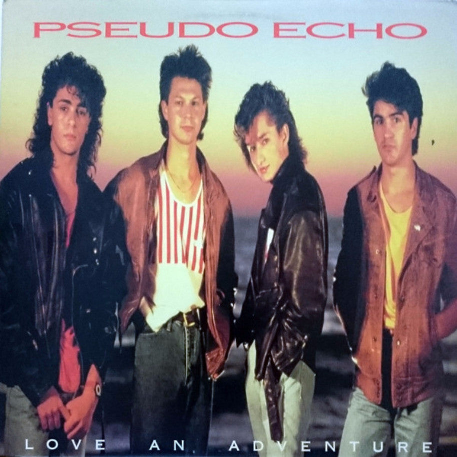 Pseudo Echo ‎– Love An Adventure - Vinyl Record - Front Cover