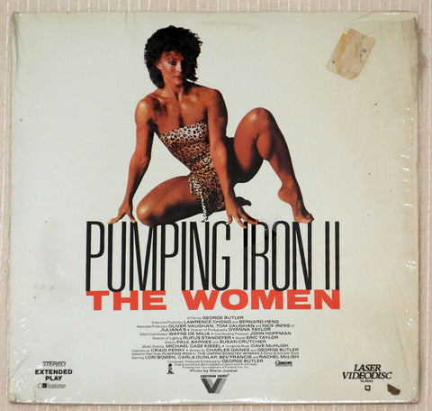 Pumping Iron 2: The Women Laserdisc Front Cover