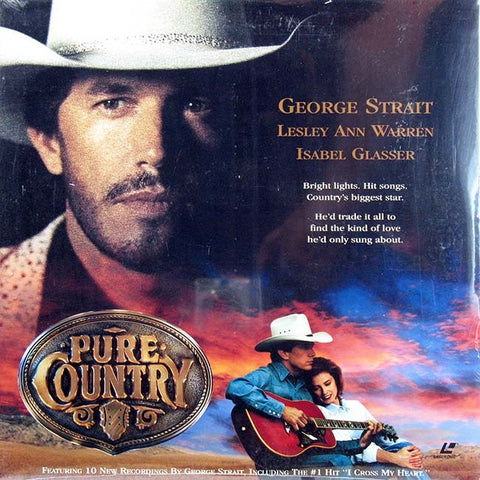 Pure Country (1992) LaserDisc