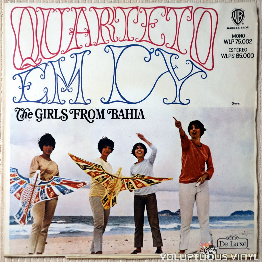 Quarteto Em Cy ‎– The Girls From Bahia vinyl record front cover