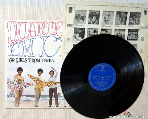 Quarteto Em Cy ‎– The Girls From Bahia vinyl record