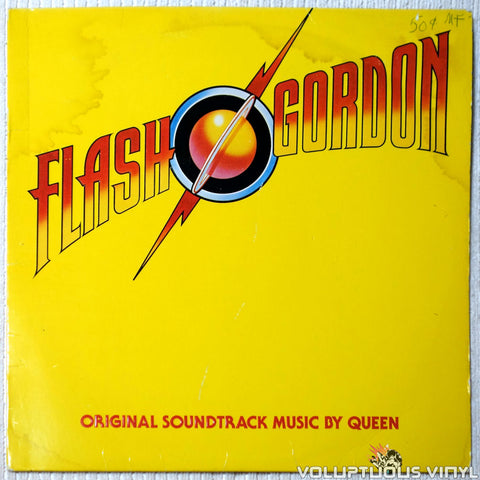 Queen ‎– Flash Gordon vinyl record front cover