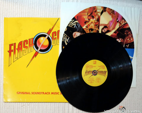 Queen ‎– Flash Gordon vinyl record