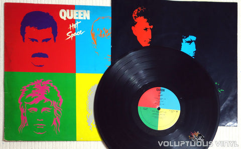 Queen ‎– Hot Space - Vinyl Record