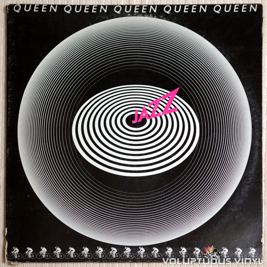 Queen ‎– Jazz - Vinyl Record - Front Cover