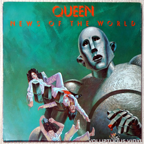 Queen ‎– News Of The World - Vinyl Record - Front Cover