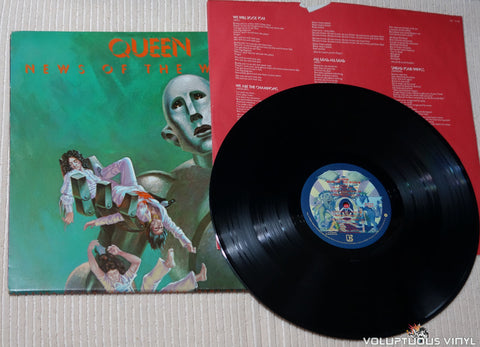Queen ‎– News Of The World - Vinyl Record
