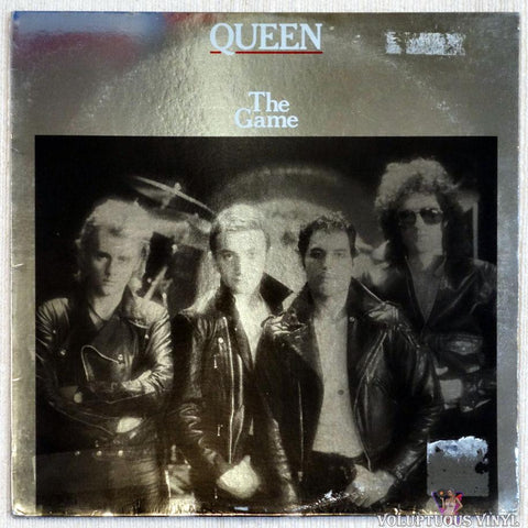 Queen ‎– The Game (1980) Foil Cover