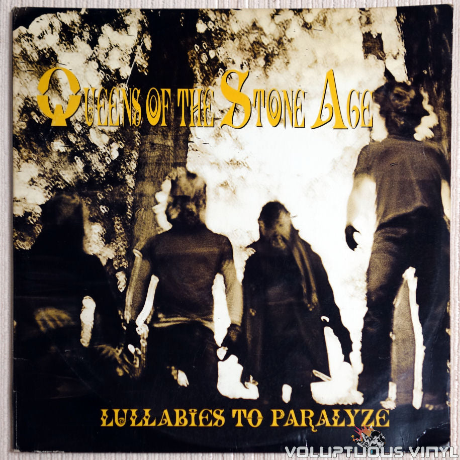 Queens Of The Stone Age ‎– Lullabies To Paralyze - Vinyl Record - Front Cover