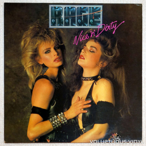 Rage ‎Nice 'N' Dirty Sexy Vinyl Record Front Cover
