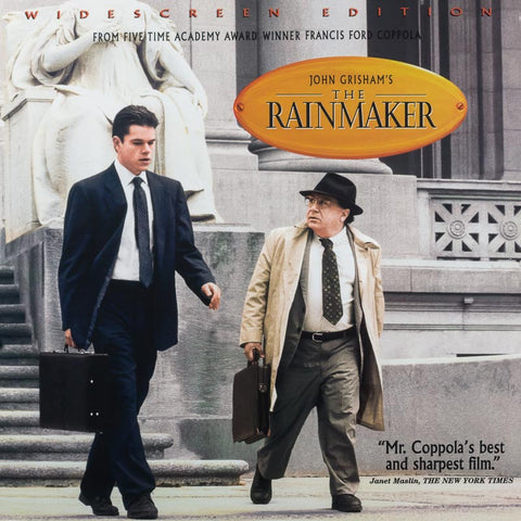 Rainmaker, The (1997) Matt Damon LaserDisc