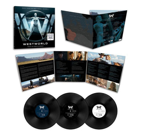 Ramin Djawadi ‎– Westworld - Vinyl Record - Exclusive 3xLP