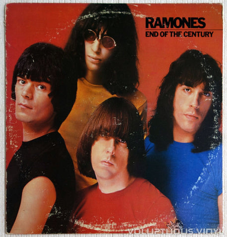 Ramones ‎End Of The Century Vinyl Record Front Cover