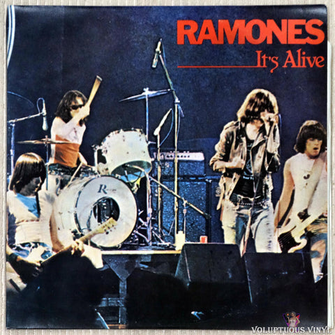 Ramones ‎– It's Alive (1979) 2xLP, Portuguese Press