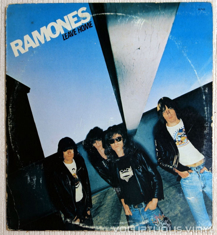 Ramones ‎Leave Home Vinyl Record Front Cover