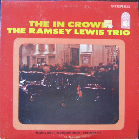The Ramsey Lewis Trio ‎– The In Crowd (1965) STEREO - Vinyl Record - Front Cover
