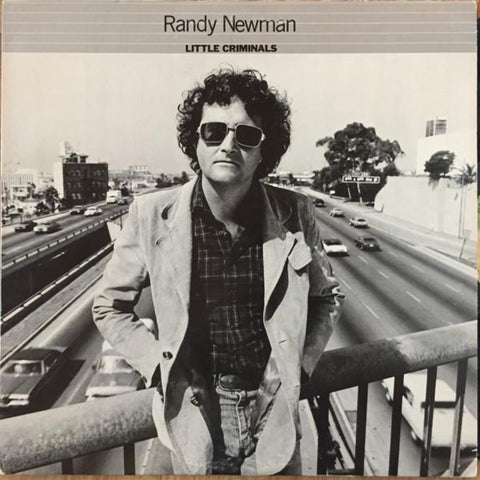 Randy Newman ‎– Little Criminals vinyl record front cover