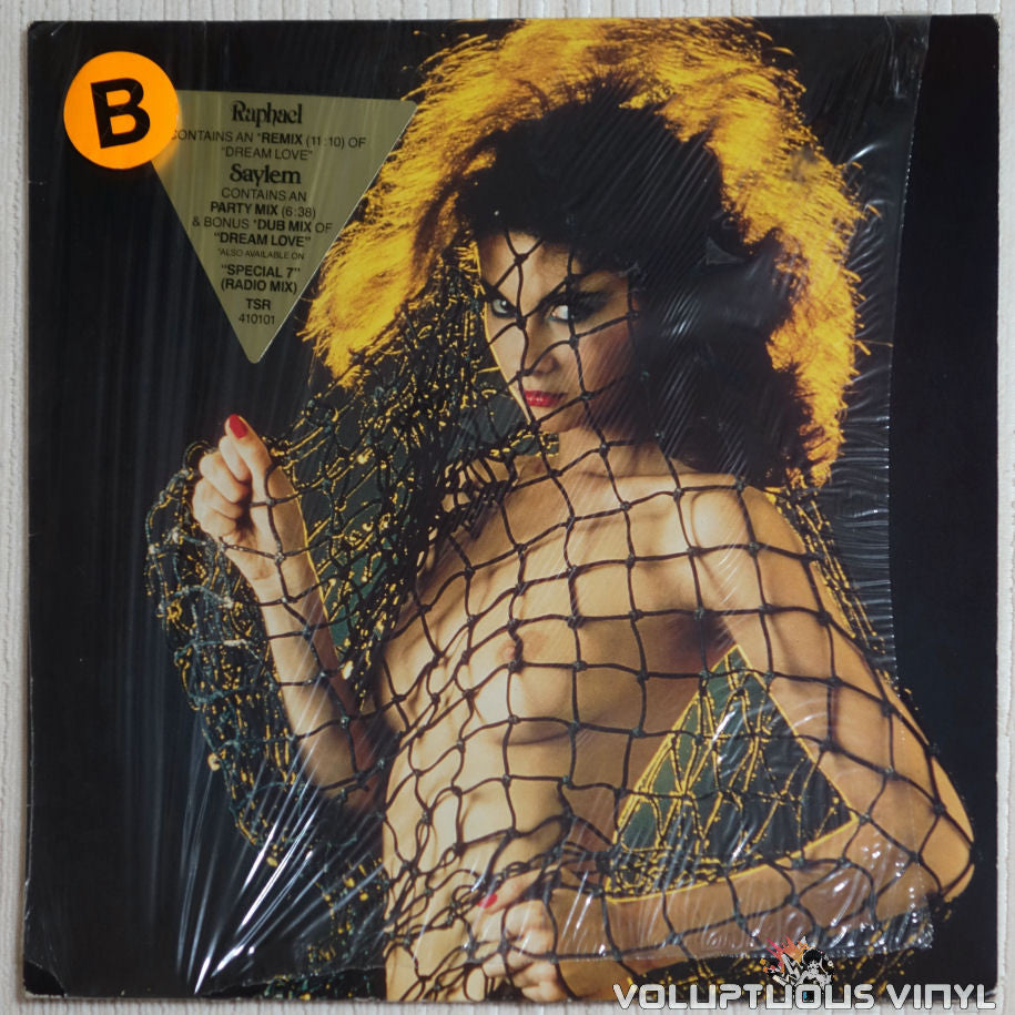Raphael Saylem ‎– Dream Love - Vinyl Record - Topless Front Cover