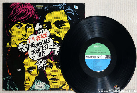 The Rascals ‎– Time Peace: The Rascals' Greatest Hits - Vinyl Record