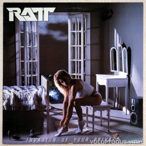 Ratt ‎– Invasion Of Your Privacy - Vinyl Record LP - Front Cover