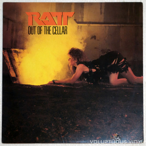 Ratt ‎– Out Of The Cellar - Vinyl Record LP - Front Cover