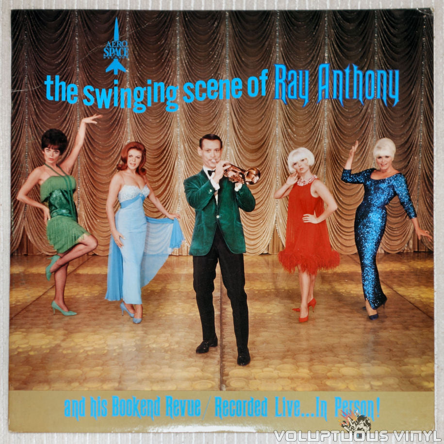 Ray Anthony ‎– The Swinging Sound Of Ray Anthony - Vinyl Record - Front Cover