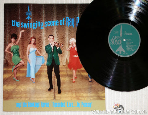 Ray Anthony ‎– The Swinging Sound Of Ray Anthony - Vinyl Record