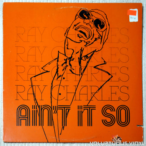 Ray Charles ‎– Ain't It So - Vinyl Record - Front Cover