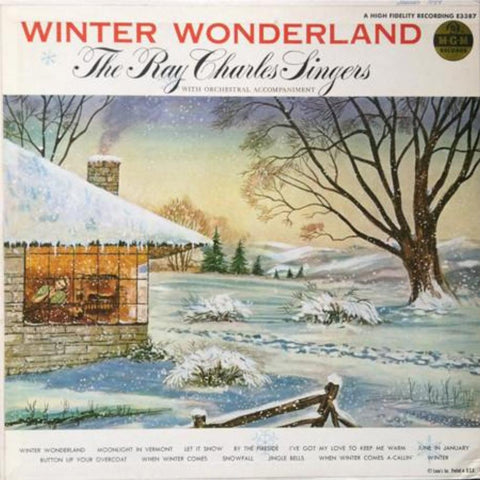The Ray Charles Singers ‎– Winter Wonderland vinyl record front cover