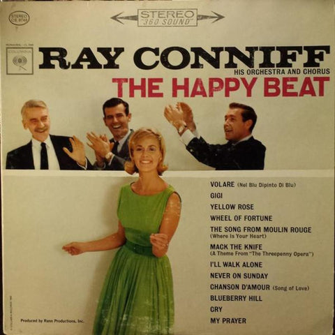 Ray Conniff ‎– The Happy Beat - Vinyl Record