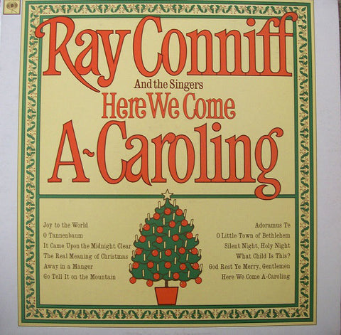 Ray Conniff And The Singers ‎– Here We Come A-Caroling (1966) MONO Vinyl Record