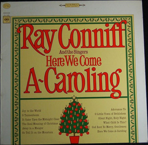 Ray Conniff And The Singers ‎– Here We Come A-Caroling (1966) Vinyl Record