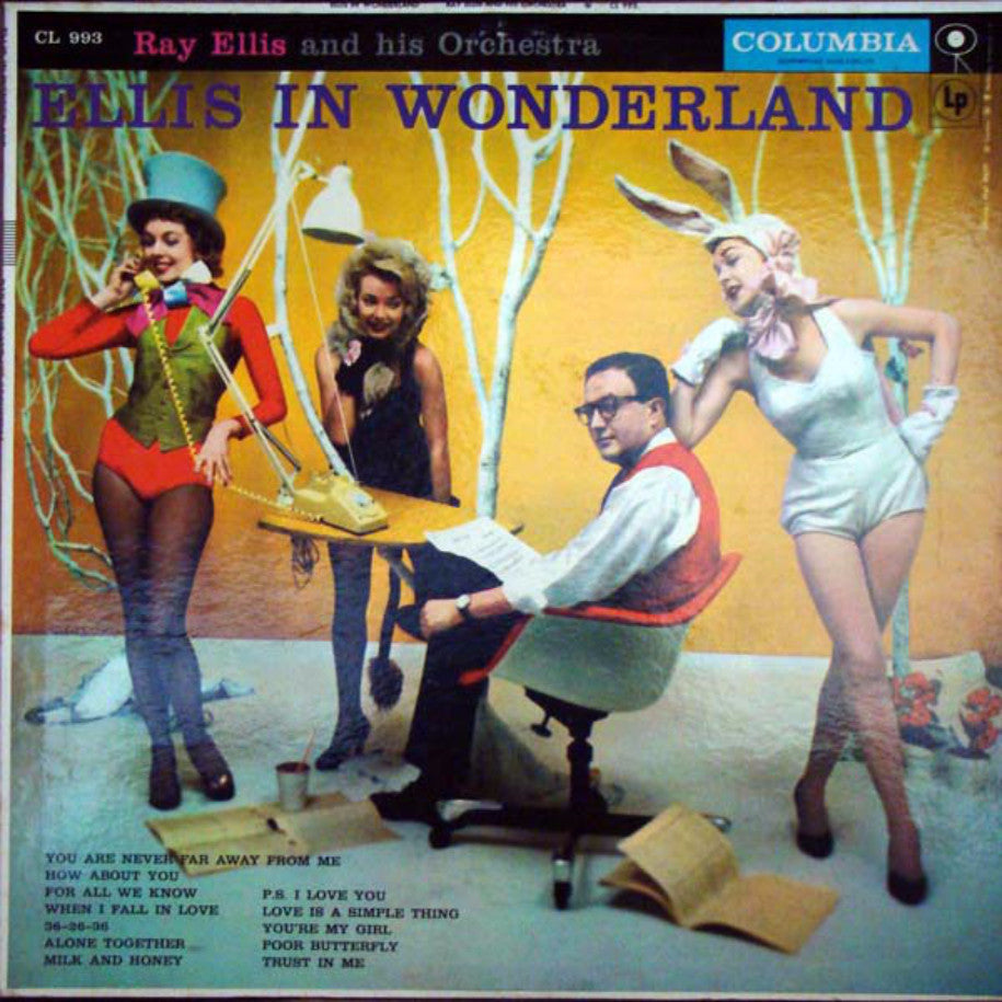 Ray Ellis And His Orchestra ‎– Ellis In Wonderland - Vinyl Record - Front Cover