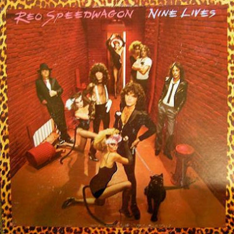 REO Speedwagon ‎– Nine Lives - Vinyl Record