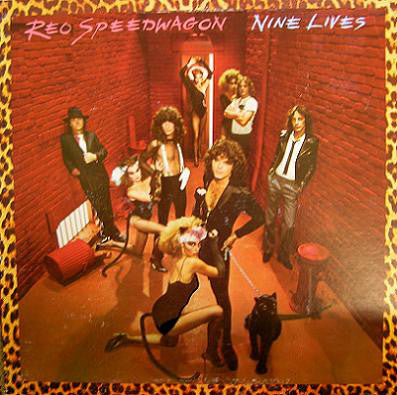 REO Speedwagon ‎– Nine Lives (1979) Cheap Vinyl Record