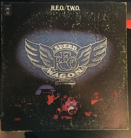 REO Speedwagon ‎– R.E.O./T.W.O. (1972) Cheap Vinyl Record