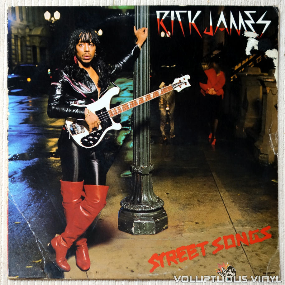 Rick James ‎– Street Songs vinyl record front cover