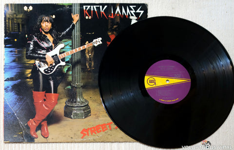 Rick James ‎– Street Songs vinyl record