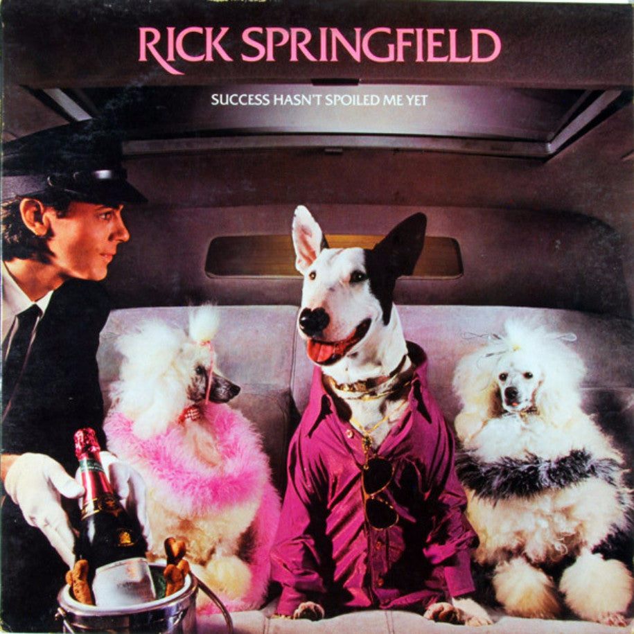 Rick Springfield ‎– Success Hasn't Spoiled Me Yet - Vinyl Record - Front Cover