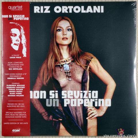 Riz Ortolani ‎– Non Si Sevizia Un Paperino (2019) Red Vinyl, Spanish Press, SEALED