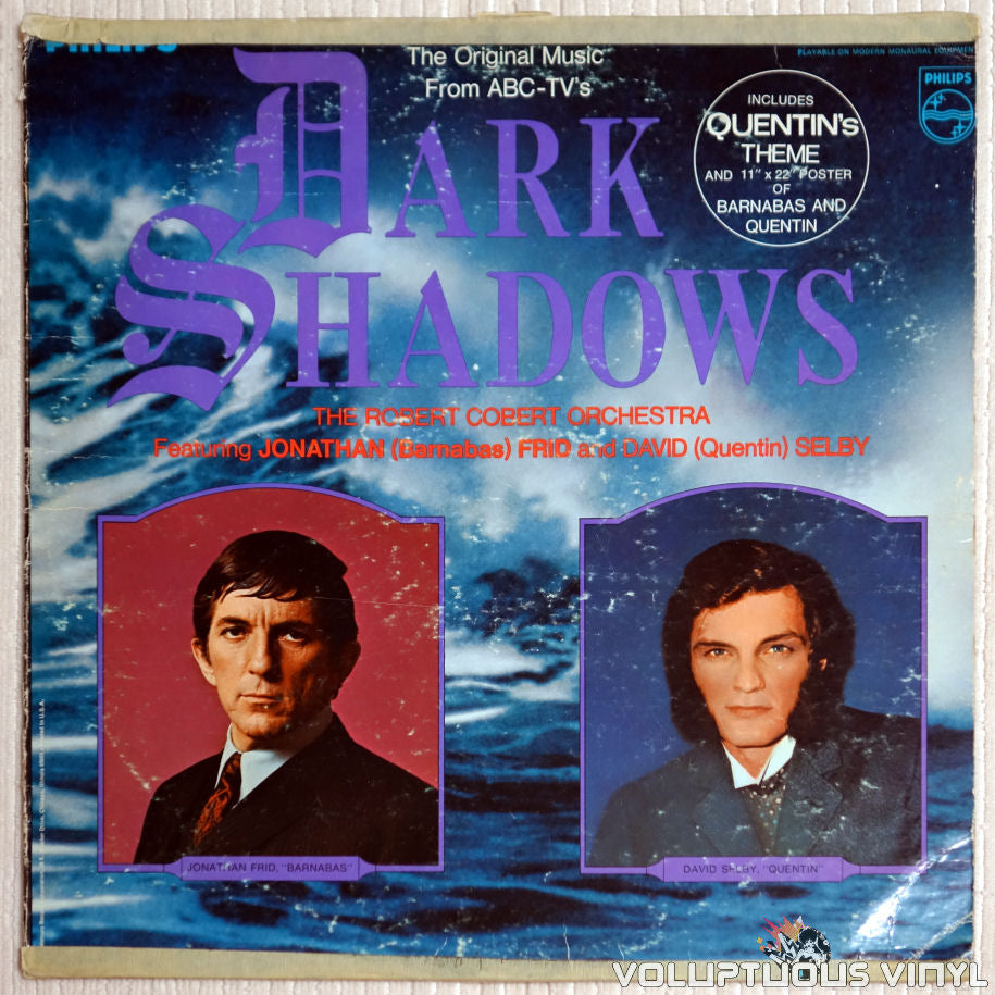 The Robert Cobert Orchestra ‎– The Original Music From ABC's Dark Shadows - Vinyl Record - Front Cover