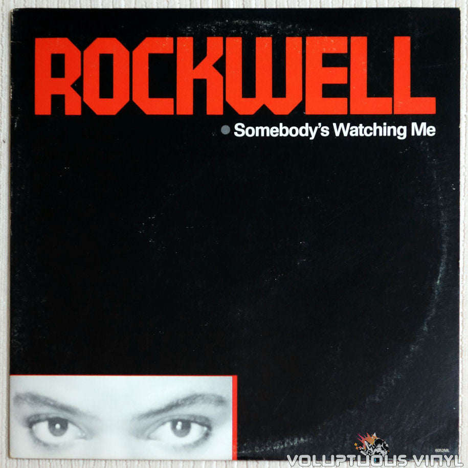 Rockwell ‎– Somebody's Watching Me - Vinyl Record - Front Cover