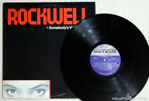 Rockwell ‎– Somebody's Watching Me - Vinyl Record