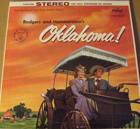 Rodgers And Hammerstein ‎– Oklahoma (1955) Vinyl Record
