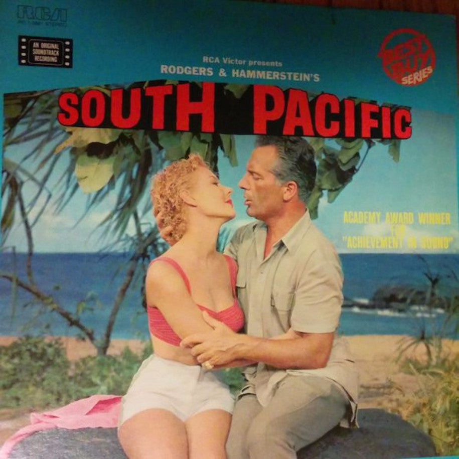 Rodgers & Hammerstein ‎– South Pacific - Vinyl Record - Front Cover