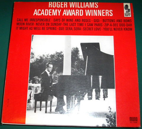 Roger Williams – Academy Award Winners (1964) Cheap Vinyl Record