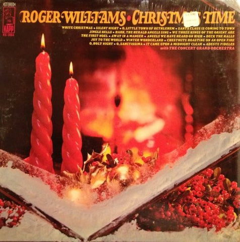 Roger Williams With The Concert Grand Orchestra ‎– Christmas Time (?) Vinyl Record