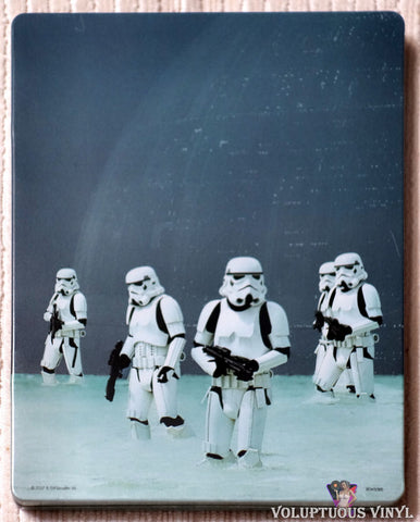 Rogue One: A Star Wars Story Steelbook Blu-ray back cover
