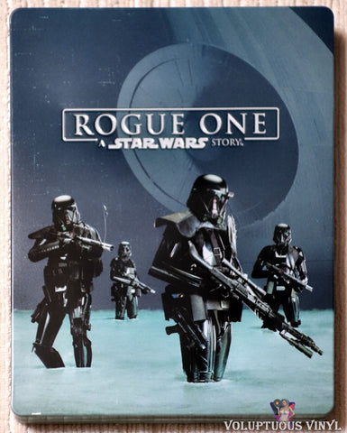 Rogue One: A Star Wars Story Steelbook Blu-ray front cover